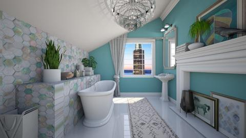 80s BR - Bathroom - by sissybee