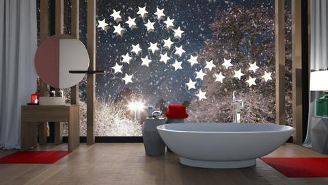 xmas bath - Bathroom - by TTD