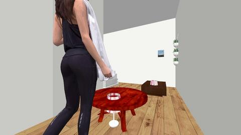 the cute friendly house - Glamour - Bedroom - by in3213