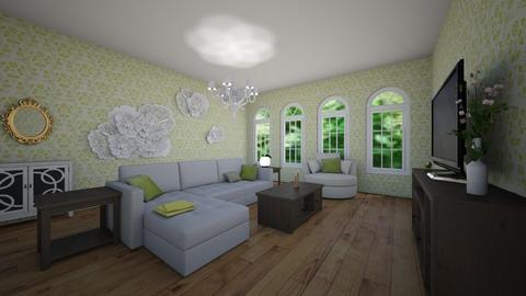 meadow room - Living room - by NowhereGil14