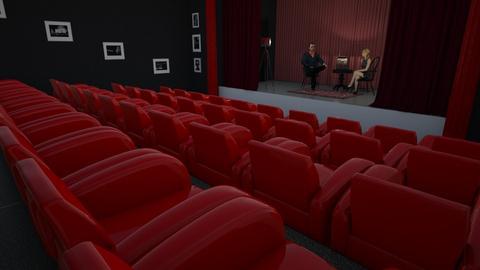 Theater scene - by snjeskasmjeska