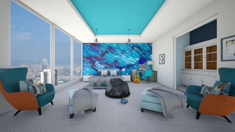 Teen Boy Bedroom - Modern - Bedroom - by bgref