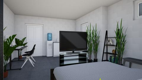 Bed and Hangout Room 2 - Minimal - Bedroom - by millerfam
