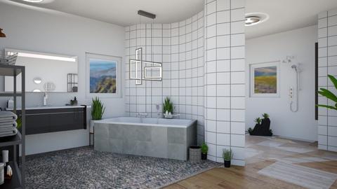 Bohemian Bath - Glamour - Bathroom - by Isaacarchitect