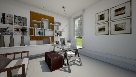 Escritorio - Modern - Office - by Claudia Correia