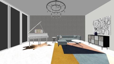 piano room - by BARE Design Studio