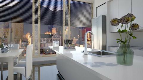 apartmentskitchen - Modern - Kitchen - by Nhezi