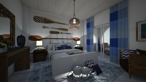 Summer - Rustic - Bedroom - by matina1976