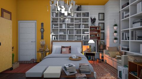 Peachy - Bedroom - by Tree Nut
