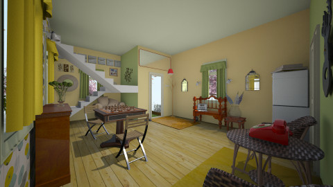 Front/Laundry Room - by kspices