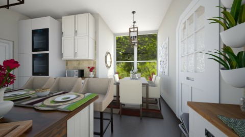 open kitchen 2 - Country - Kitchen - by renne