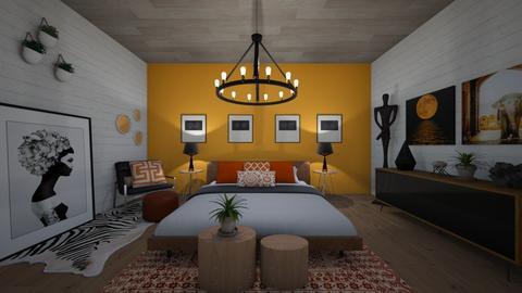m - Bedroom - by dena15