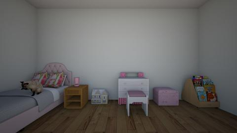 roses room - Kids room - by camilian_the_3rd