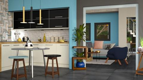 Colored Variation - Modern - Kitchen - by Jessica Fox