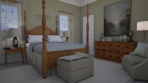 Magnolia - Bedroom - by Tuija