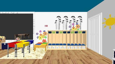 Book Area - Kids room - by pachy