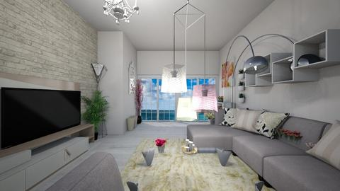 First try - Living room - by Sabina_made
