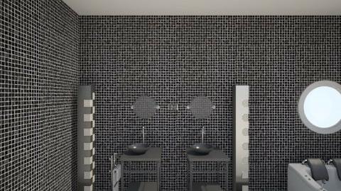 black room - Glamour - Bathroom - by Angela Quintieri