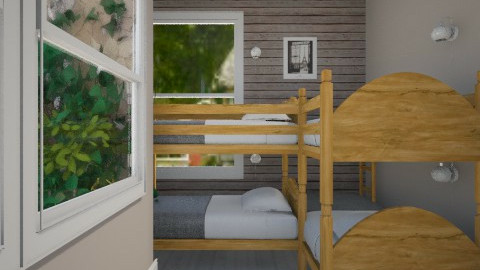 chank  - Rustic - Kids room - by zozan