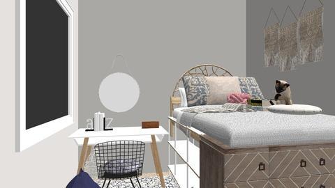 Uni - Bedroom - by Emmaxgo
