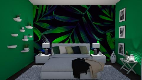 Green relax - Bedroom - by sz_evelyn19