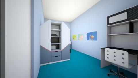 My bedroom plan 3 - Modern - Bedroom - by Crazy_Macy06
