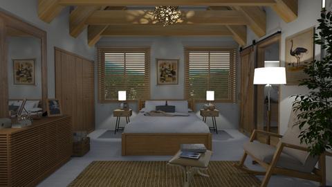 S_Oak  - Bedroom - by Shajia