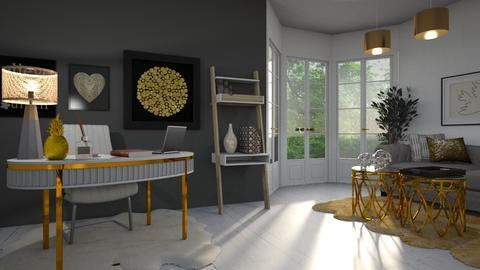 Small OfficeRoom - by Sigrid Zambrano