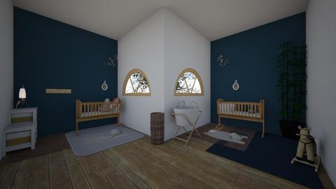 AandMs bedroom - Classic - Kids room - by laetitiaizoard