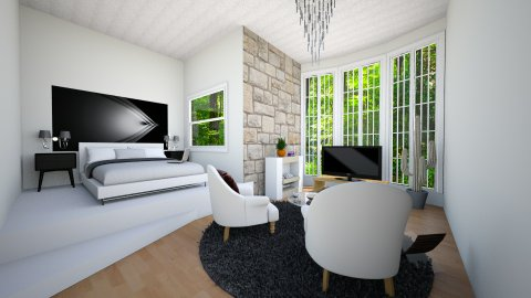 city - Modern - Bedroom - by Nancy Hc