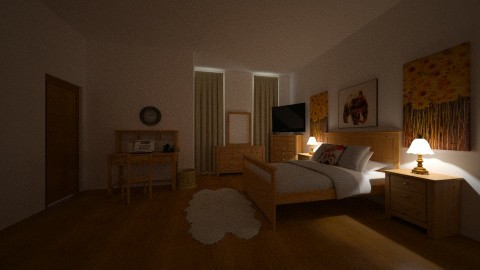 CARAMELWOOD - Country - Bedroom - by DMLights-user-1593471
