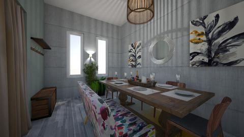 Earthy Eating - Dining room - by zoe128