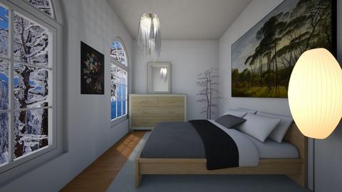 Sky - Classic - Bedroom - by Twerka