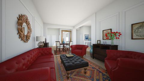 125 Ocean Avenue #6F - Living room - by murphystaging
