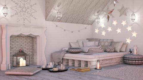 Sleep under the stars - Bedroom - by Laurika