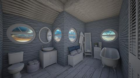 nautical - Bathroom - by daydreamer84