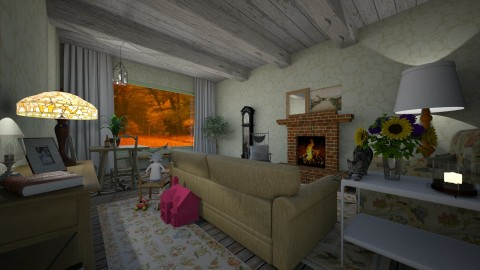Grannys Cottage - Country - Living room - by PippyLStocking