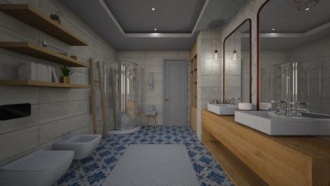Bathroom 3x4 - Modern - Bathroom - by tolo13lolo