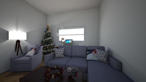 Cozy Christmas Livingroom - Living room - by Natalia Bickford