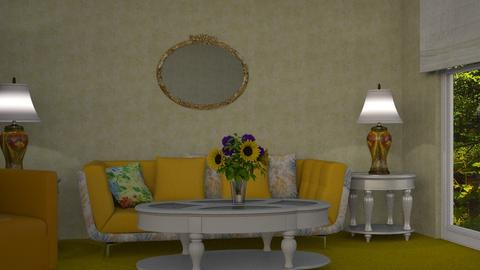 Yellow  - by Interiors by Laura