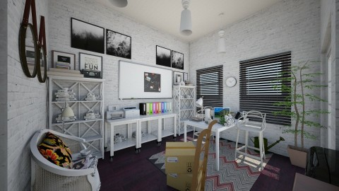 home office - Vintage - Office - by Ripley86