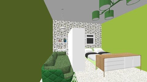 Anisah bedroom - Classic - Bedroom - by anissaji89