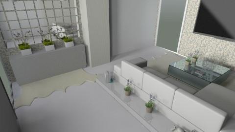 Sala futilish - Modern - Living room - by AmandaLibardi