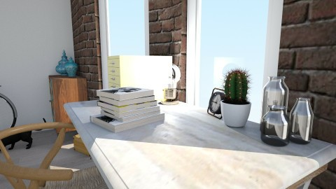 Cute study spot - Eclectic - Office - by dinogirl1114