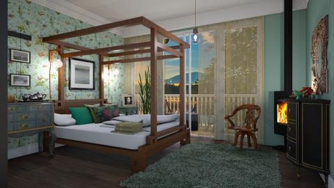Hummingbird - Eclectic - Bedroom - by janip