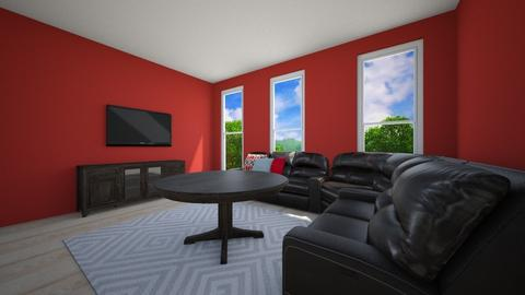 GAME ROOM - Living room - by jessicabaucke