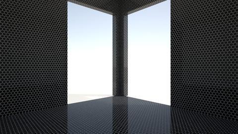 Hexagonal BLACK - by TV Renders