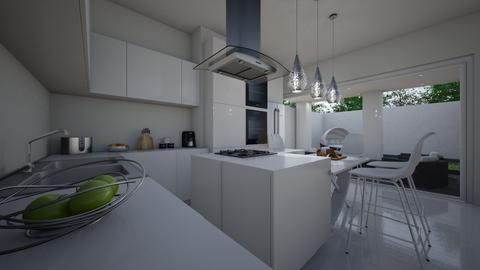 Modern Playful Kitchen - Kitchen - by __Nikoletta__