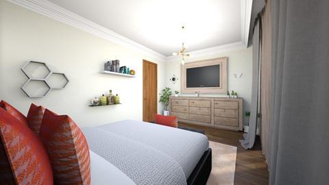 dormitor  - Modern - Bedroom - by Popa Bianca Rozalia