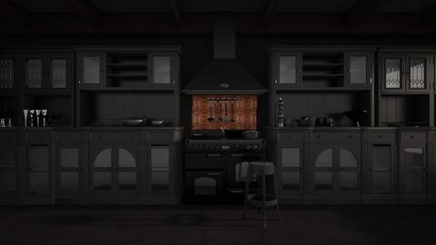 Black - Kitchen - by Jade Autumn
